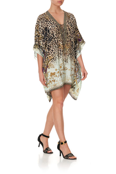 SHORT LACE UP KAFTAN NOMADIC NYMPH