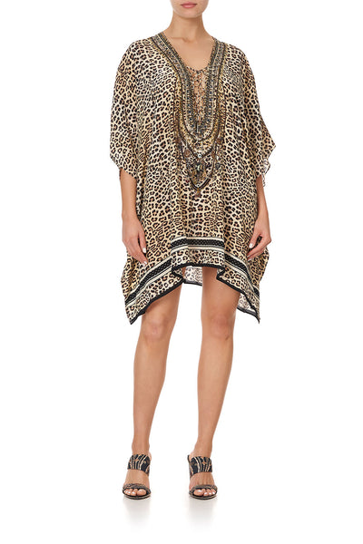 SHORT LACE UP KAFTAN SEX KITTEN