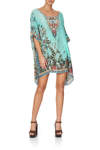 SHORT ROUND NECK KAFTAN MILLAS BACKYARD