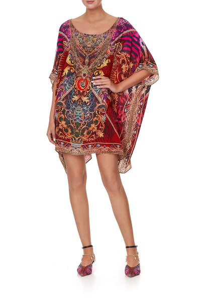 SHORT ROUND NECK KAFTAN SLAVE TO THE RHYTHM