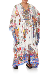 SPLIT HEM LACE UP KAFTAN FRIDA FREEDOM - O/S