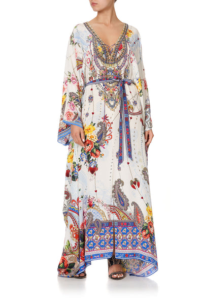 SPLIT HEM LACE UP KAFTAN FRIDA FREEDOM