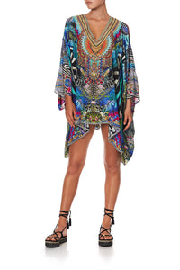 SPLIT SHOULDER SHORT KAFTAN CAFE NAIROBI