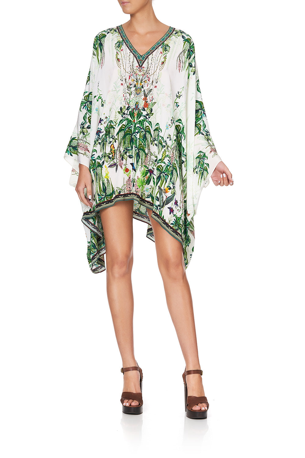 SPLIT SHOULDER SHORT KAFTAN DAINTREE DARLING