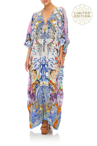 SPLIT SLEEVE KAFTAN WITH HARDWARE GEISHA GATEWAYS