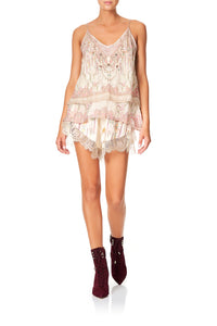 LOOSE LACE HEM SHORT GOLDEN AGE