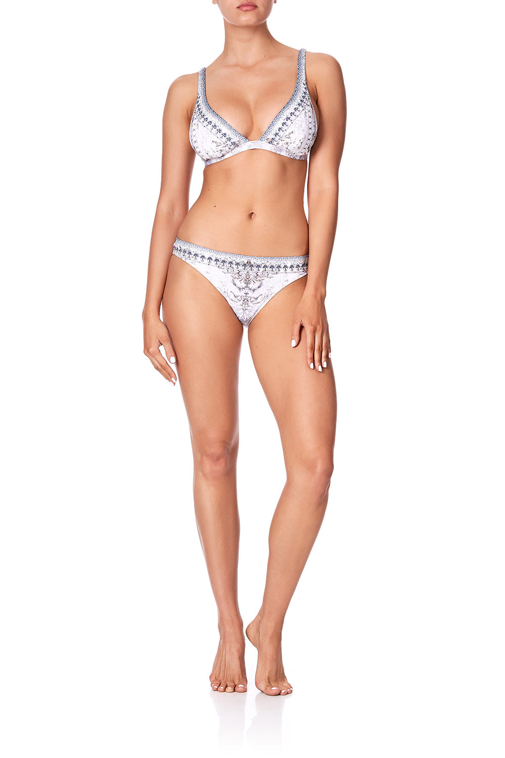 STRAPPY FIXED HI TRI BRA CRYSTAL CASTLE