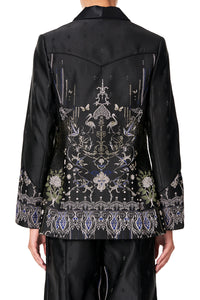 JACKET WITH SLEEVE CUFF DETAIL REBELLE REBELLE