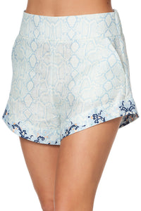 TIE DETAIL HIGH CUT SHORTS BUSH DIAMOND