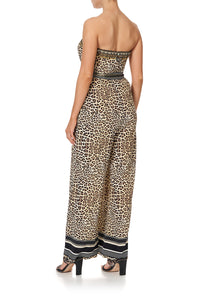 TIE WAIST STRAPLESS JUMPSUIT SEX KITTEN