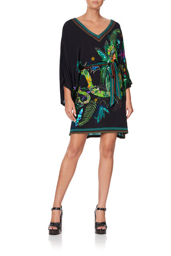V NECK JERSEY SHORT KAFTAN TIE RIVER CRUISE