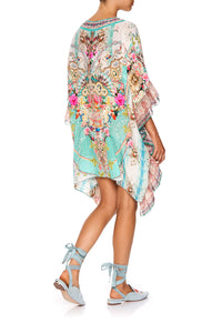 V-NECK KAFTAN WITH RUFFLE SLEEVE CALL IT DREAMING
