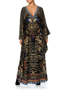 CAMILLA V-NECK KAFTAN WITH TIE WAIST THE NIGHT WE MET