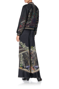 WIDE LEG PANT WITH SHAPED CUFF BOTANICAL CHRONICLES