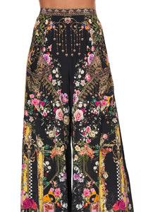 WIDE LEG TROUSER WITH FRONT POCKETS MONTAGUES CAPULET