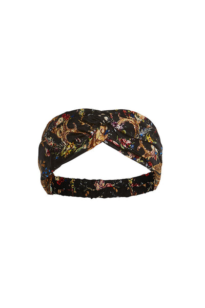 CAMILLA WOVEN TWIST HEADBAND FRIEND IN FLORA