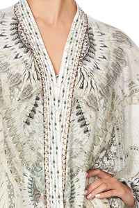 HIGH LOW HEM CASUAL JACKET DAINTREE DREAMING