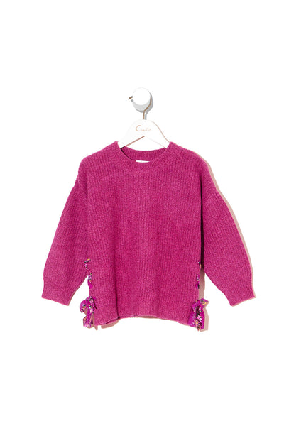 KIDS KNIT SWEATER LA BELLE