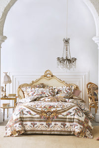 QUEEN BED QUILT COVER SET OLYMPE ODE