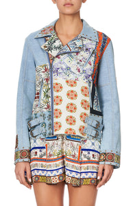 PATCHWORK DENIM JACKET GONE COAST