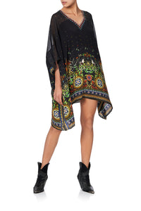 SHORT KAFTAN WITH YOKE BLACKHEATH BETTY