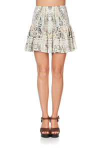 SHORT SHIRRED SKIRT DAINTREE DREAMING