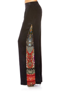 CAMILLA JAGGIS KINGDOM PANTS W SIDE SPLIT