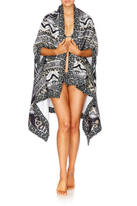 TRIBAL THEORY TOWEL PONCHO
