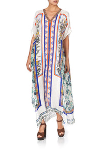 SLIM FIT KAFTAN WITH SPLIT GONE COAST