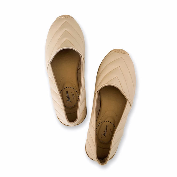 AMITY Bone Leather Espadrilles