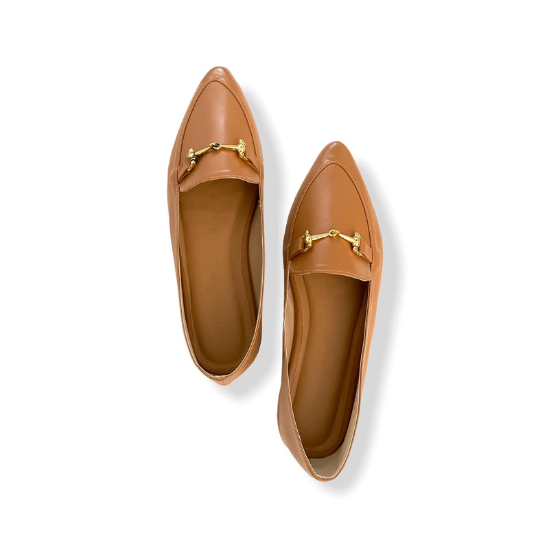 MUNICH Camel Soft Lounge Dolly Shoes