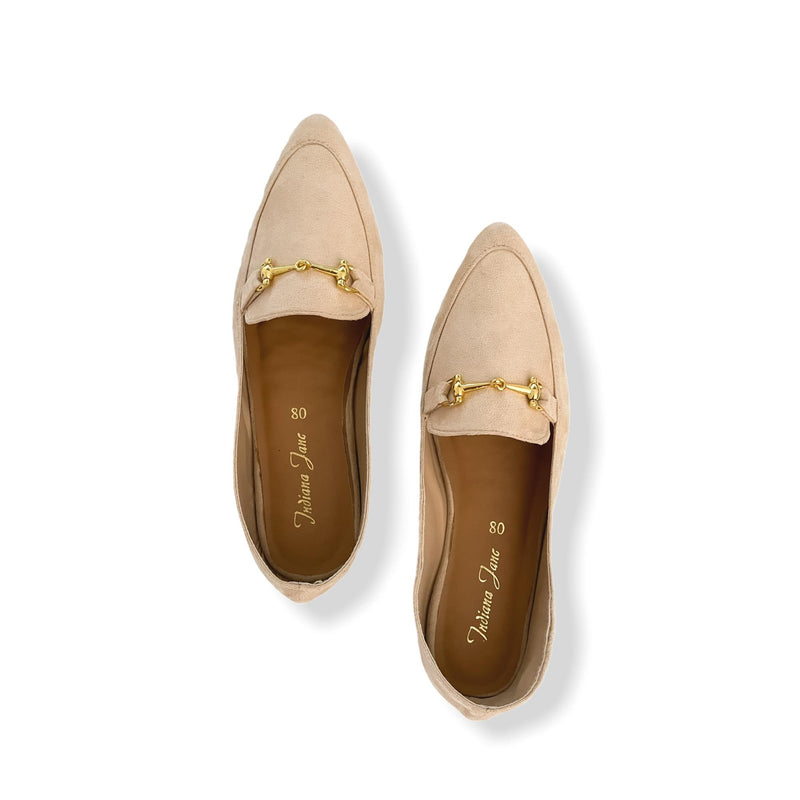 MUNICH Nude Soft Lounge Dolly Shoes