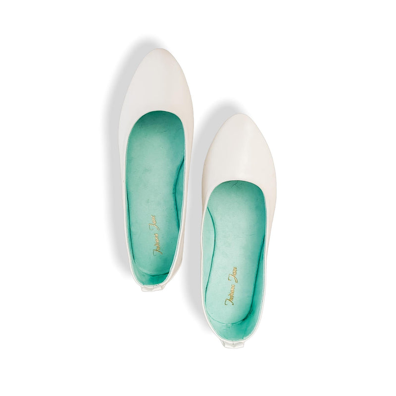 COSTA White Lounge Doll Shoes