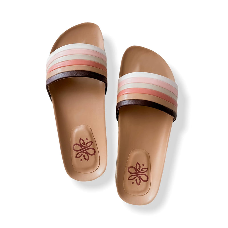 NICOLA Gradient Casual Cork Slides