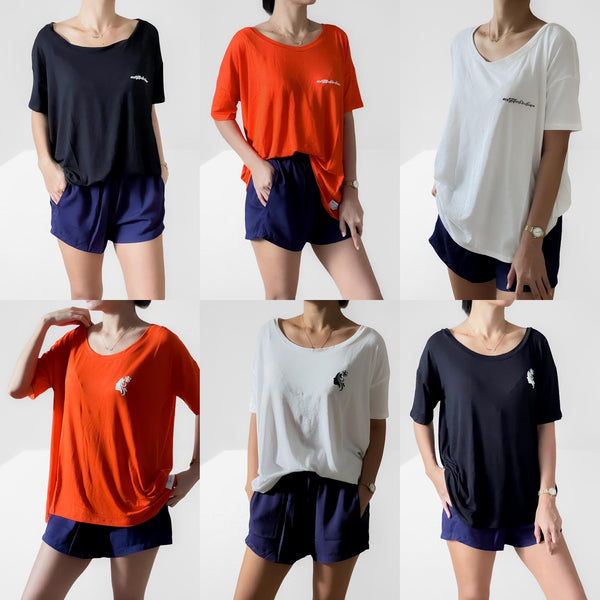 INDI-viduali-TEE Staple Knit Blouse