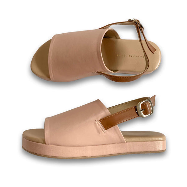 "DELILAH Blush 1"" Platform Sandals"