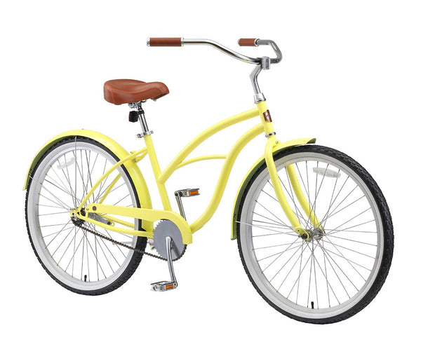 AO Women's Bicycle Co. Amelia Single Speed Beach Cruiser