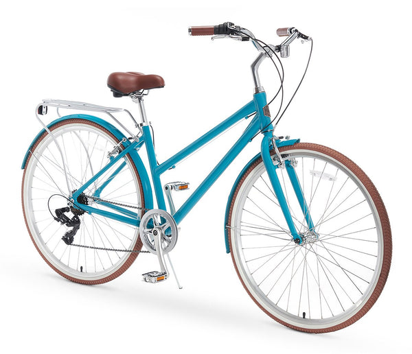 AO Women's Bicycle Co. Serena 7 Speed Hybrid Sport Commuter BIke