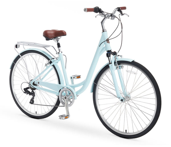 AO Women's Bicycle Co. Jackie 7 Speed Hybrid Cruiser