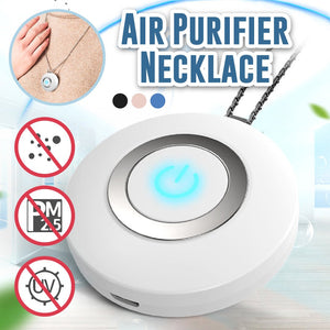 Portable Air Purifier Necklace