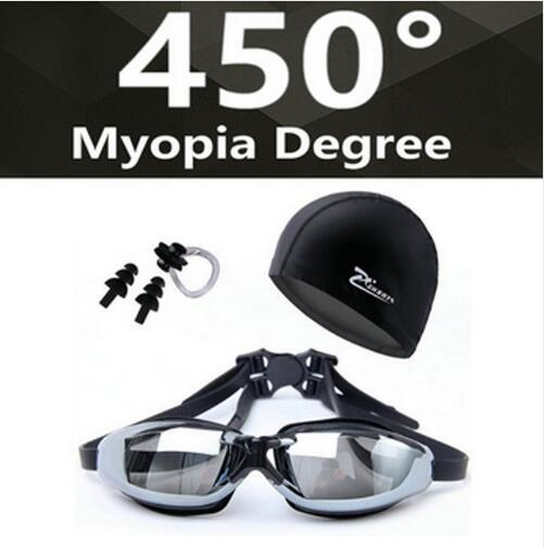 HD Shortsighted Swimming Glasses - agitra