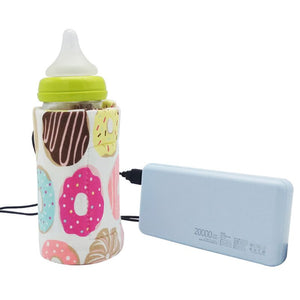 USB Milk Water Warmer Travel Stroller Insulated Bag - agitra