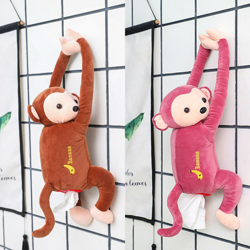Hang It! Creative Monkey Tissue Box - agitra