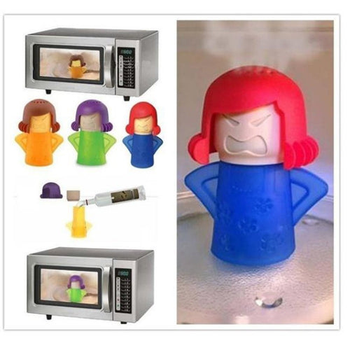 Angry Mama Microwave Cleaner - agitra