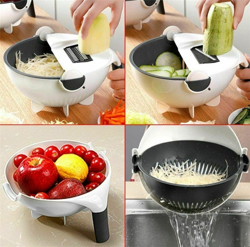 The Rotate Vegetable Slicer - agitra
