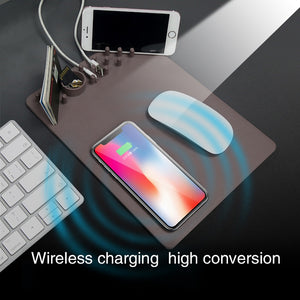 QI Wireless Charging Mouse-pad - agitra