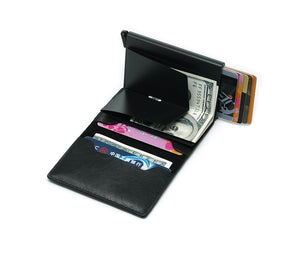 Slim Smart Wallet with RFID Protected Card Holder - agitra