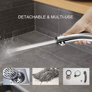 HIGH-PRESSURE CHROME-PLATED ADJUSTABLE HAND SHOWER HEAD - agitra