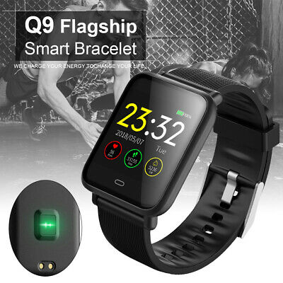 WATERPROOF SMART WATCH CONTINUOUS HEART RATE MONITOR BLOOD PRESSURE WITH MULTIPLE SPORT MODES