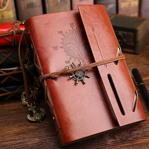 Travel Journal- Leather - agitra
